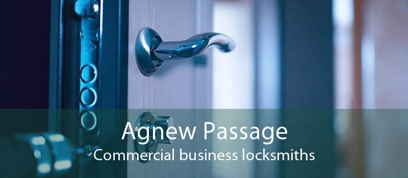 Agnew Passage Commercial business locksmiths