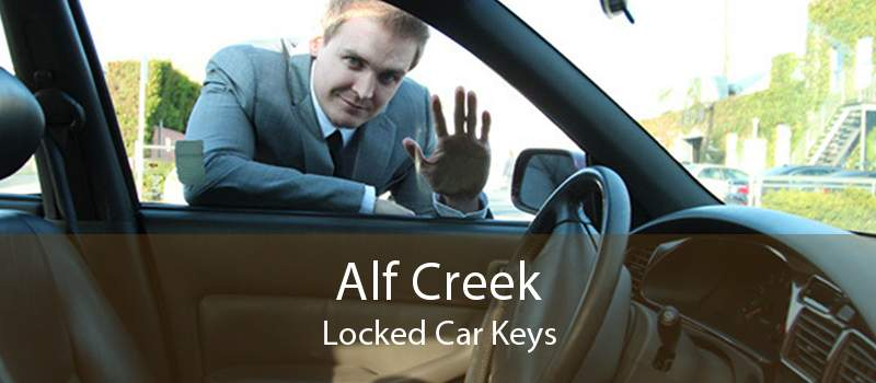 Alf Creek Locked Car Keys