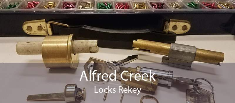 Alfred Creek Locks Rekey