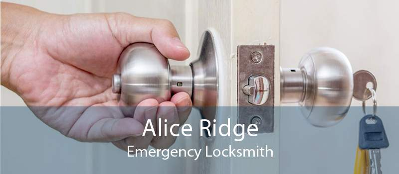 Alice Ridge Emergency Locksmith