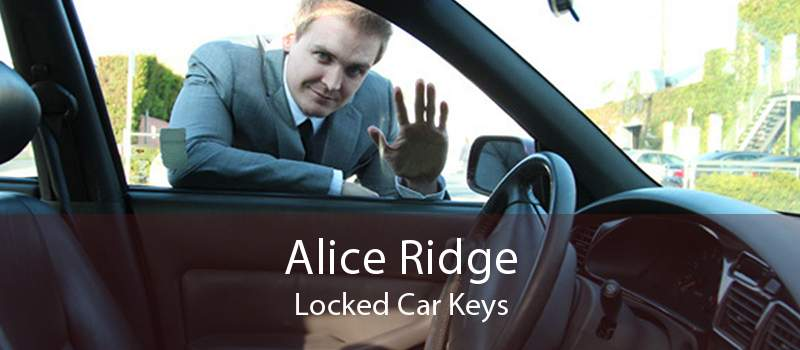 Alice Ridge Locked Car Keys