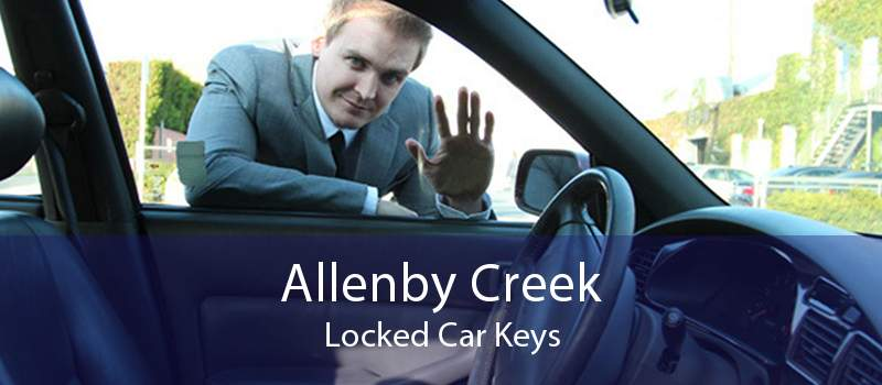 Allenby Creek Locked Car Keys