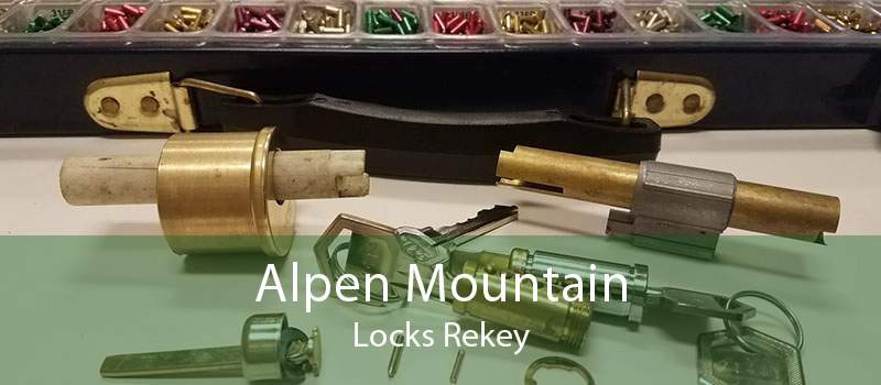 Alpen Mountain Locks Rekey