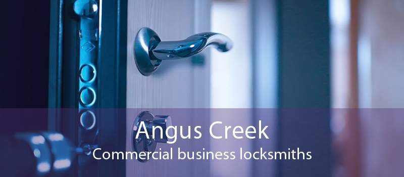Angus Creek Commercial business locksmiths