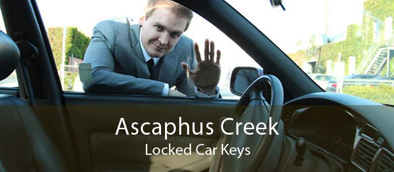 Ascaphus Creek Locked Car Keys
